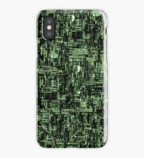 Borg Cube Map iPhone Case/Skin