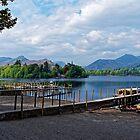 Derwent Water Cumbria by Mark Baldwyn