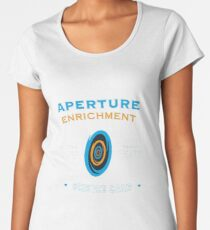 Portal Aperture Science Women's Premium T-Shirt