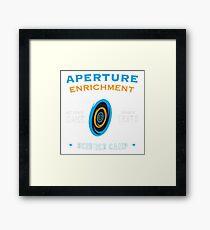 Portal Aperture Science Framed Print