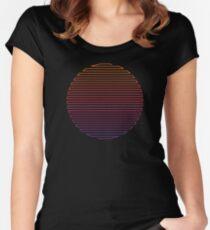 Linear Light Women's Fitted Scoop T-Shirt