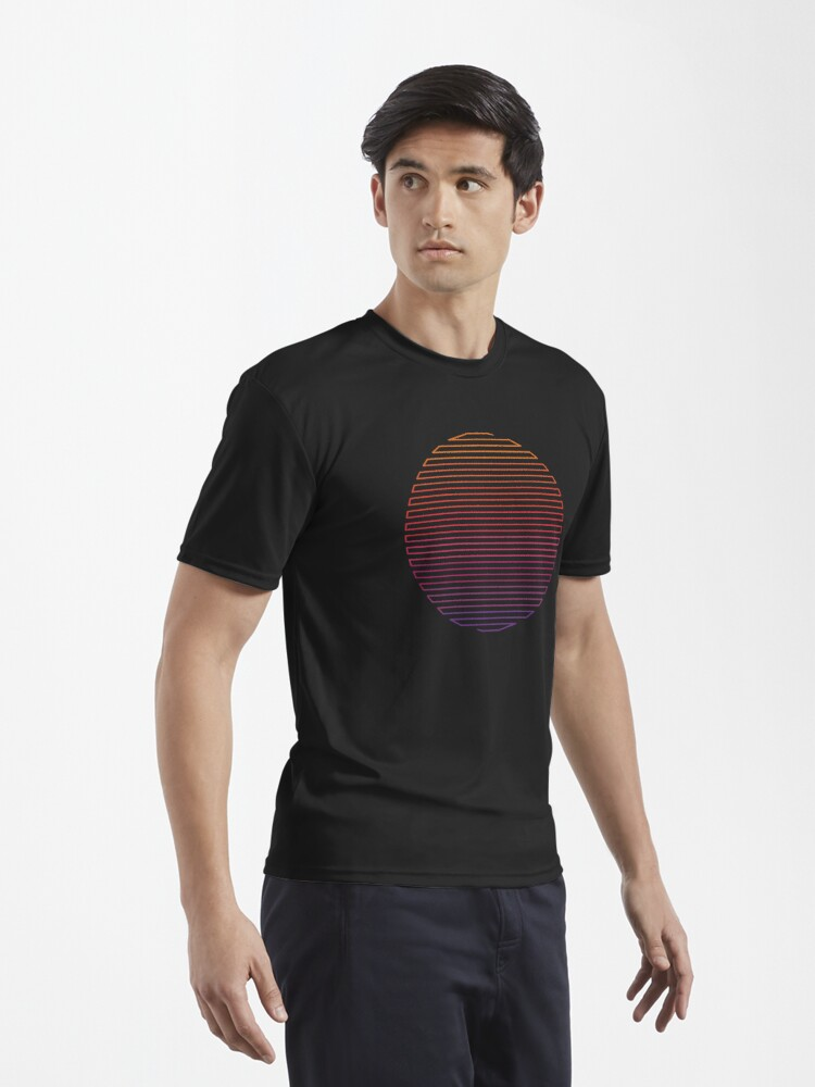 Alternate view of Linear Light Active T-Shirt