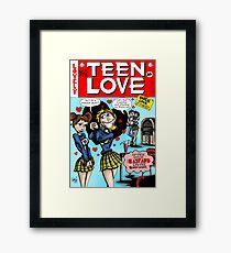 Teen Love Framed Print