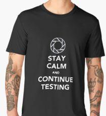 Portal Aperture Science Men's Premium T-Shirt