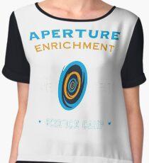 Portal Aperture Science Chiffon Top