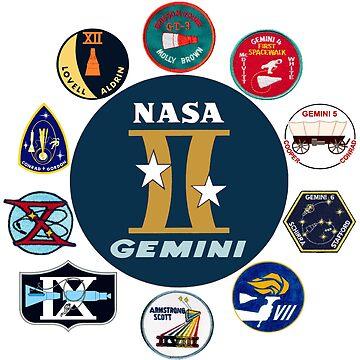 Gemini Program Composite Logo by Spacestuffplus