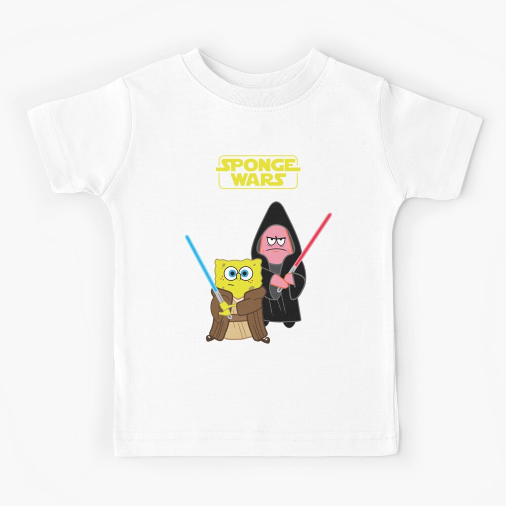 Sponge Wars Camiseta para niños