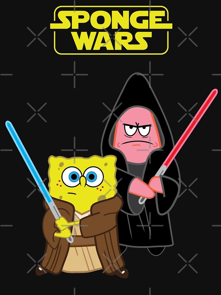 Sponge Wars by pvdesign
