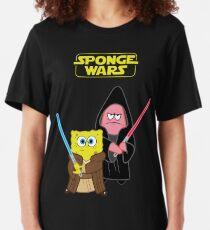 Sponge Wars Slim Fit T-Shirt