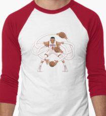 Mr. Triple Double Westbrook  Men's Baseball ¾ T-Shirt
