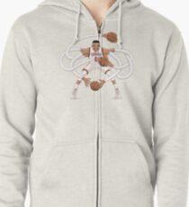 Mr. Triple Double Westbrook  Zipped Hoodie