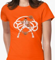 Mr. Triple Double Westbrook  Women's Fitted T-Shirt