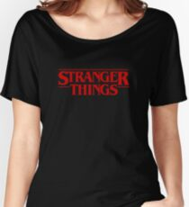 Stranger Things (2016) TV Series Women's Relaxed Fit T-Shirt