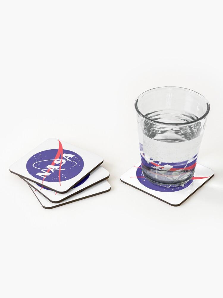 Alternate view of Official NASA (meatball) Logo Coasters (Set of 4)