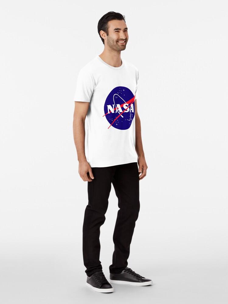Alternate view of Official NASA (meatball) Logo Premium T-Shirt