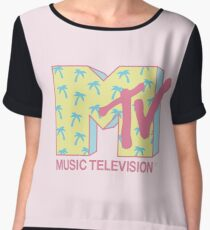 Summer MTV Women's Chiffon Top