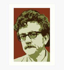 Lámina artística Kurt Vonnegut