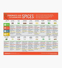 Cook Smarts' Guide to Flavoring with Spices Photographic Print