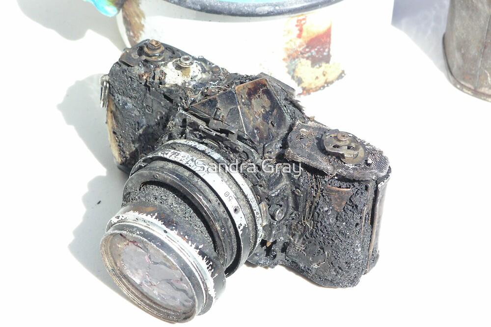 Burnt Camera by Sandra Gray
