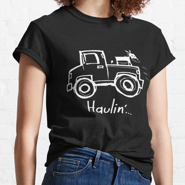 Haulin' Ass with a Donkey on a Truck Classic T-Shirt