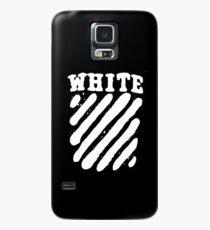 Off White Grunge Case/Skin for Samsung Galaxy