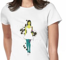 &%$@ Dress Womens Fitted T-Shirt