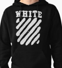 Off White Grunge Pullover Hoodie