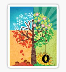 Seasons Sticker