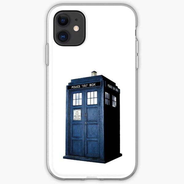 DOCTOR WHO TARDIS  iPhone Soft Case