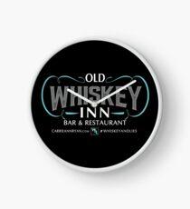 Whiskey and Lies...Old Whiskey Inn Bar and Restaurant (DARK) Clock