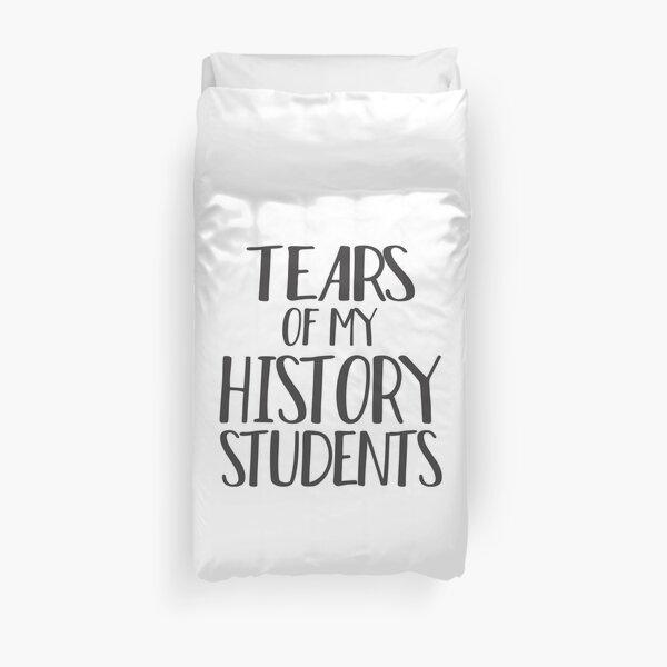 Lágrimas de mi historia Estudiantes Funda nórdica