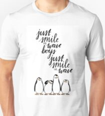 Just Smile and Wave Boys  T-Shirt
