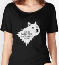 Ser Wow of House Doge Women's Relaxed Fit T-Shirt