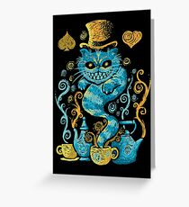 Wondercat Impressions Greeting Card