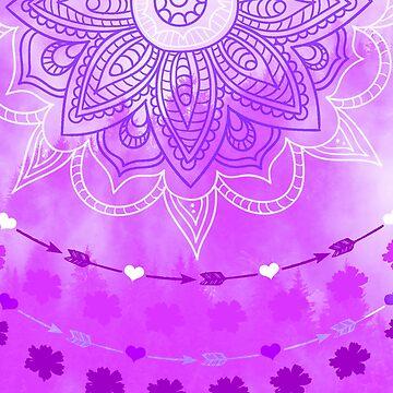 Bohemian Forest purple by DERG