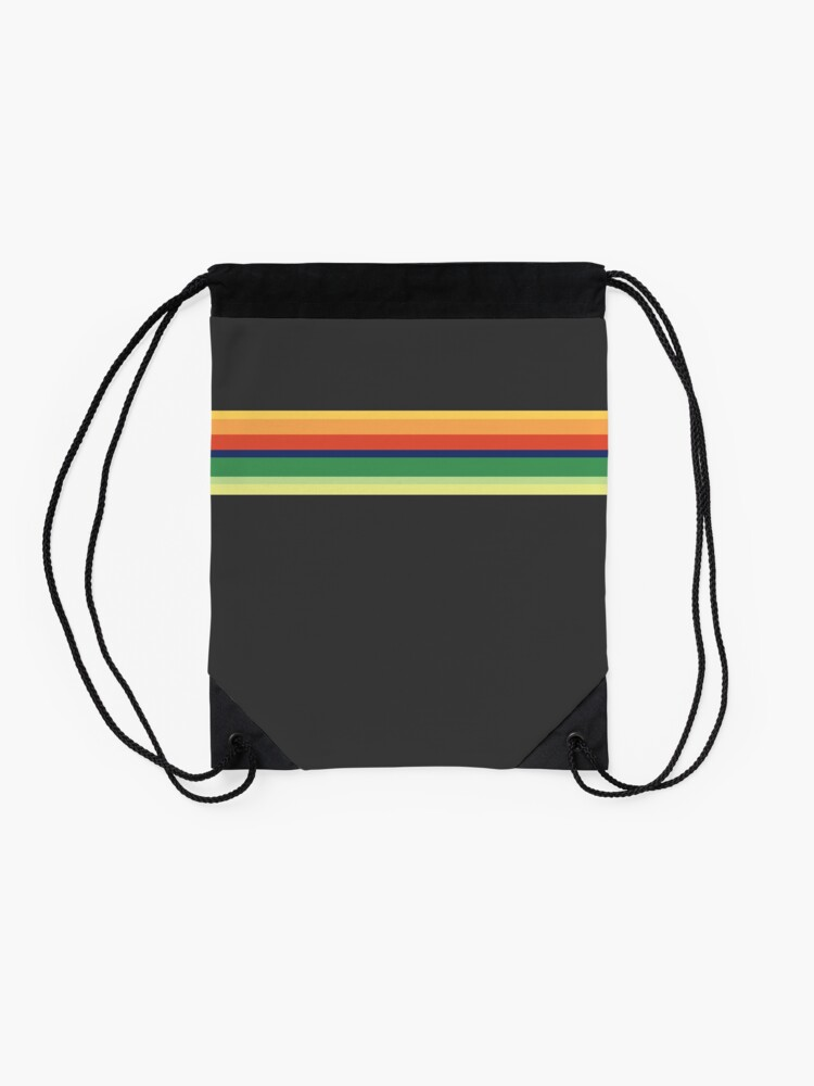 Alternate view of 13th Doctor Who Striped Shirt Drawstring Bag