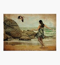 Island Girl Photographic Print