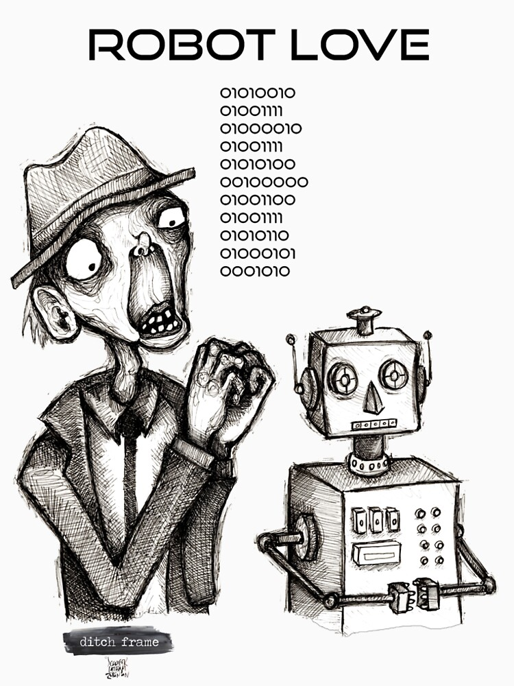 Robot Love Binary by DitchFrame