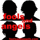 fools and angels sticker design by byronC