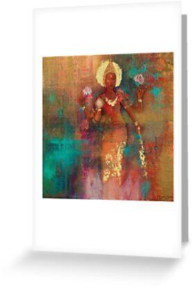 Goddess Lakshmi  by Kamini Gupta