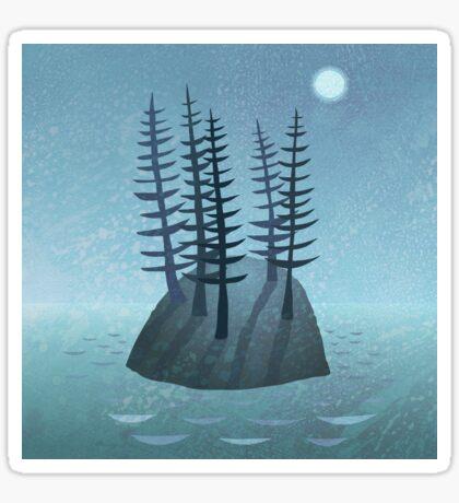 Pine Island Sticker
