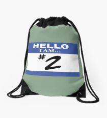 Hello I am #2 Drawstring Bag