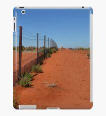 Dingo Fence - Cameron's Corner NSW/Qld/SA Australia iPad Case/Skin