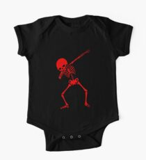 Red Dab Skeleton Kids Clothes