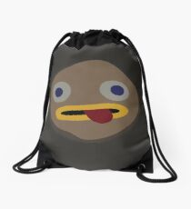 Rock Fact Drawstring Bag