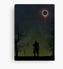 Warriors Landscapes - Dark Souls Canvas Print