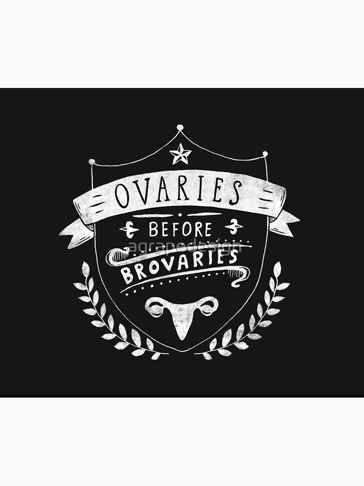 Ovaries before brovaries by agrapedesign