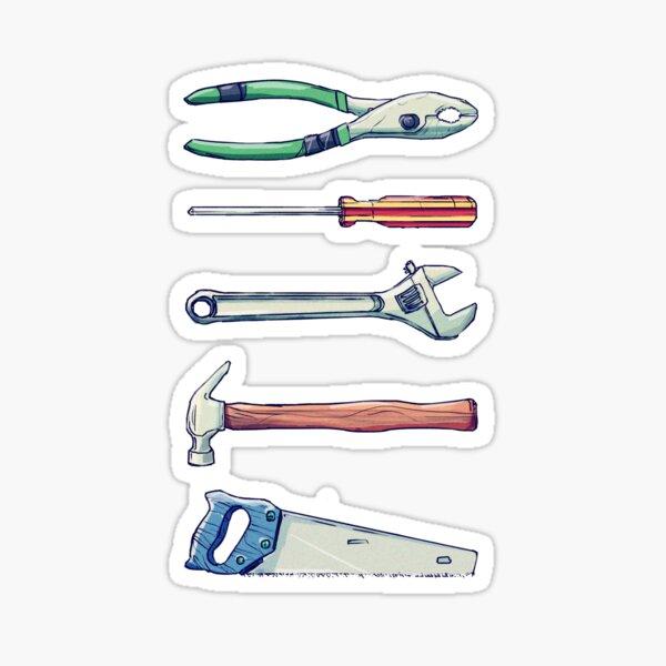 handyman tools Sticker