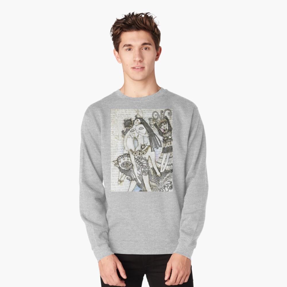 Poesía al abismo Pullover Sweatshirt