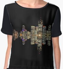 Brisbane at Night Women's Chiffon Top